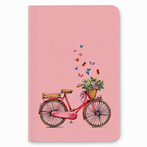 "Factor Notes Journal Diary Notebook Ruled - Bicycle - (B6/5"" x 7""/12cm x 18cm)"