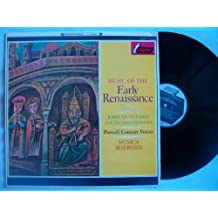 TV 34058S PURCELL CONSORT/MUSICA RESERVATA Early Renaissance Music Dunstable