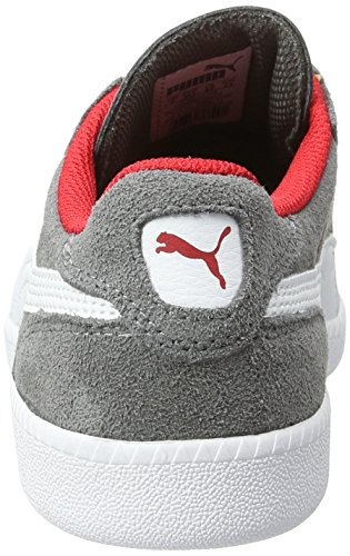 Puma Icra Trainer Sd Jr, Sneakers Basses Mixte Enfant Gris (Steel Gray-puma White 14)