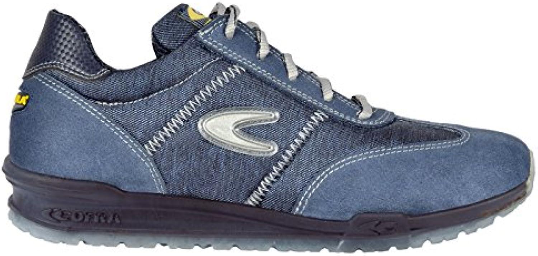 Cofra 78400-001.W41 S1 P SRC brezzi - Zapatillas de seguridad – talla 41, azul