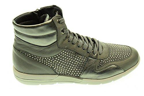 IGI & CO 48153 gris chaussures de sport femme baskets paillettes postal Grigio