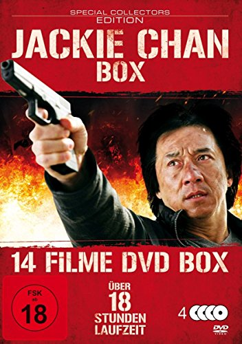Bild von Jackie Chan : 14 Filme Box - Top Fighter - Blood Fingers - Eagle Shadow Fist - Fire Dragon ua - 4DVDs