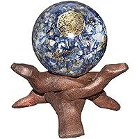 Crocon Lapis Lazuli Energetische Kugel Ball Blume des Lebens Symbol Energie Generator für Reiki Healing Chakra... preisvergleich bei billige-tabletten.eu