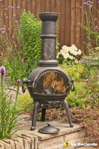 bronze-112cm-high-cast-iron-chiminea-chimenea-chimnea-with-bbq-grill