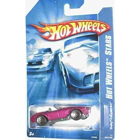 Code Car Series -#13 Shelby Cobra 427 S/C Magenta 10-Spoke Wheels #2007-97 Mattel Hot Wheels 1:64 Scale Collectible Die Cast Car