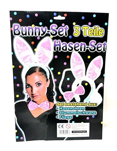 Bunny / heißer Hase Set für Sex Mädels Kostüm privat Party by schenkfix