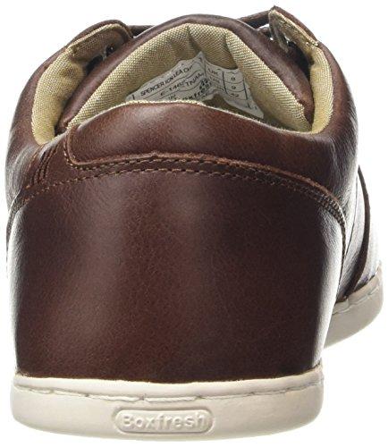 Boxfresh Spencer ICN Lea CHNT/TPE Herren Sneaker Braun (CHESTNUT/TAUPE)