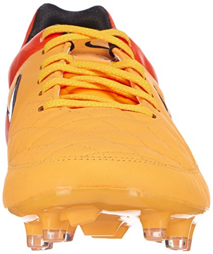 Nike Tiempo Legacy FG Herren Fußballschuhe Orange (Lsr Orng/Prsn Vlt-Ttl Orng-Vlt 858)