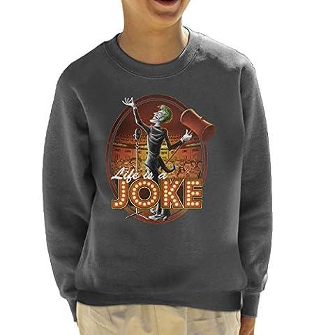 Batman Joker Life Is A Joke Kid's