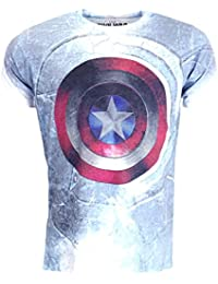Marvel Comics Captain America Civil War Shield T-shirt Official Licensed Movie