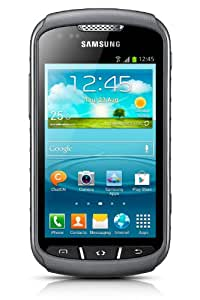 samsung s7710 galaxy xcover 2 smartphone 4 zoll titan. Black Bedroom Furniture Sets. Home Design Ideas