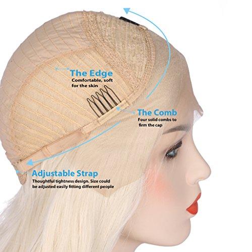 arimika-26-pulgadas-luz-rubio-Bodywave-calor-seguro-sinttico-suave-capa-de-saltos-Lace-Front-Peluca