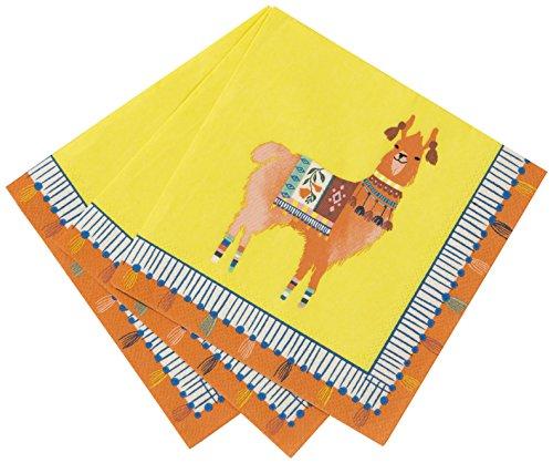 Talking Tables Boho, Cocktail-Papierservietten, mehrfarbig, 25 cm (20 Stück in 1 Design)