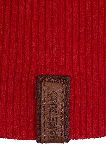 Naketano Female Knit Maja Big Anchor IV Fire Red Melange