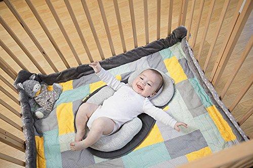 Babymoov Cosydream Smokey - Stützkissen, Lagerungkissen, Einschlafhilfe für Babys, beruhigend, gegen Plattkopf und Verdauungsprobleme - Verdauungsprobleme, und, Stützkissen, Smokey, Plattkopf, Lagerungkissen, gegen, für, einschlafhilfe, Cosydream, beruhigend, Babys, Babymoov, baby einschlafhilfe bett