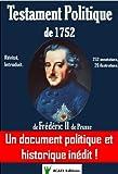 Testament Politique de 1752 de Frédéric II de Prusse