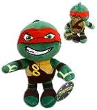 Raphael 30cm Super Soft Plüsch Schildkröten Rot TMNT Half Shell Heroes Comicserie Teenage Mutant Ninja Turtles Turtler Spielzeug Figur Hero