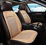 DIELIAN Auto Sitzkissen Sitzauflage mit Kühlungfunktion und 3D Belüfteten Löchern Tragbar Für Auto Zuhause Büro Stuhl,Beige,24V