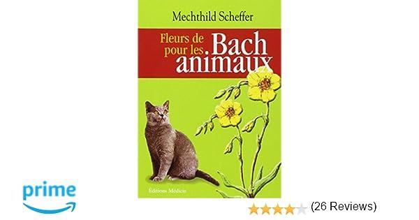 Amazon.fr , Fleurs de Bach pour les animaux , Mechthild Scheffer, Andreas  Roth, Marie,Béatrice Jehl , Livres
