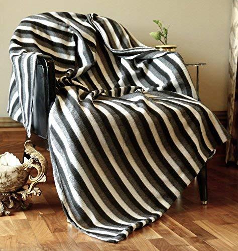 Dekorative Decke Baumwolle riesigen grauen Throw-Indigo Vintage Reversible leichte Gaint Sofa Abdeckung werfen indische dekorative gesteppte Super Soft & warme Decke für Sofa und Couch 127 cm x 228 cm