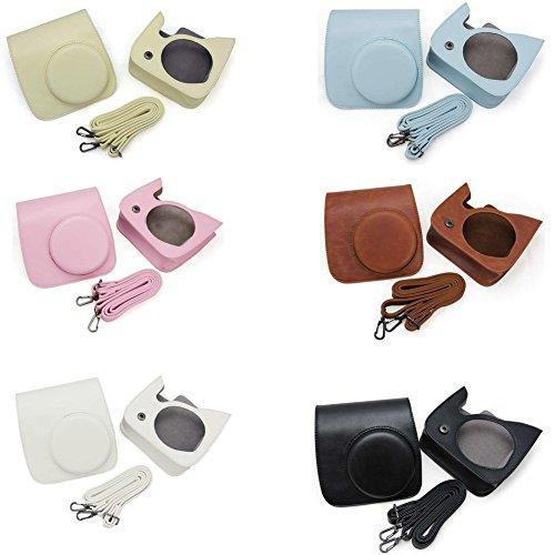 Dengzhu Camera Bag Custodia Cover Protector per fotocamera Polaroid per Fujifilm Instax Mini 8, Mini 8s