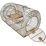 Iron Trap | Trapper | Cage | Rat Catcher | Mouse Trapper | Rodent Cage - 28 cm