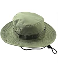 DELEY Sport all Aperto boonie bears Cappello Mimetico Militare Bucket Hat  Viaggio Bosco di Pesca 256b575d68c6
