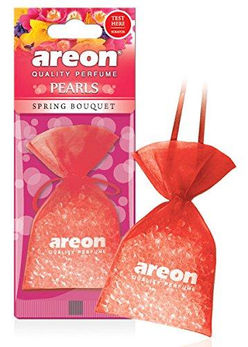 areon Perlen Auto Air Spring Bouquet Aroma Lufterfrischer Qualität Parfüm Home Office Duft (Pack von 3) (Home-duft-aroma-perlen)
