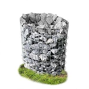 [pro.tec]® Gabione Steinkorb - Drahtkorb oval von [pro.tec]® bei Du und dein Garten