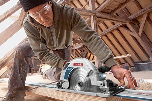 Bosch Professional Handkreissäge GKS 85 G (Sägeblatt, Absaugadapter, L-BOXX, 2200 Watt, Sägeblatt-Ø: 235 mm) - 5