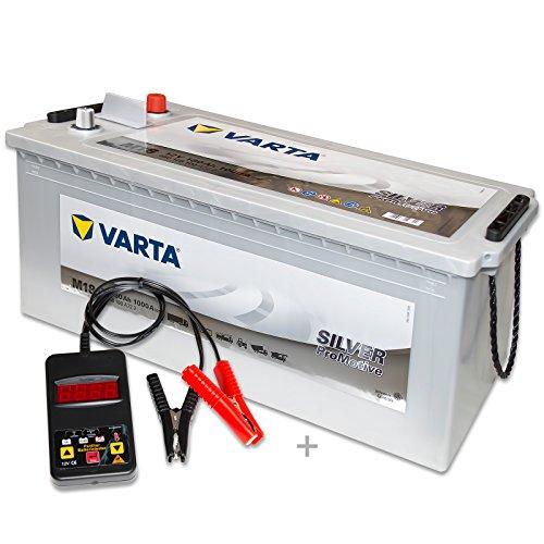 Preisvergleich Produktbild Varta Promotive Silver M18 - 12 V / 180 Ah - 1000 A / EN inkl. Batterietester