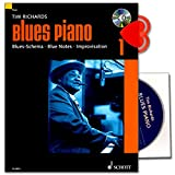 Telecharger Livres Blues Piano bande 1 de Tim Richards Blues de Schema Blue Notes IMPROVISATION avec CD et cœur Note Pince (PDF,EPUB,MOBI) gratuits en Francaise