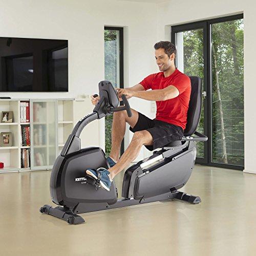 Kettler Heimtrainer Fahrrad AXOS Cycle P-LA – Farbe: Grau – das ideale Hometrainer Fahrrad – Artikelnummer: 07629-500 - 2