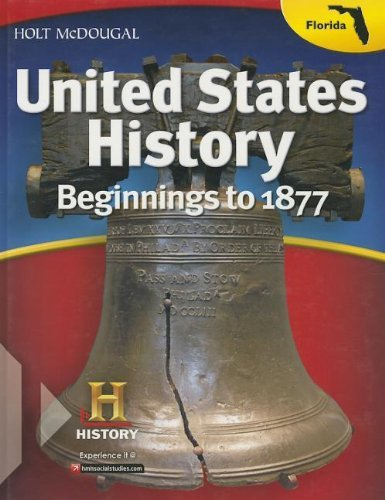 United States History: Beginnings to 1877 2013 (Holt McDougal United States History) by William Deverell (2012-01-05)