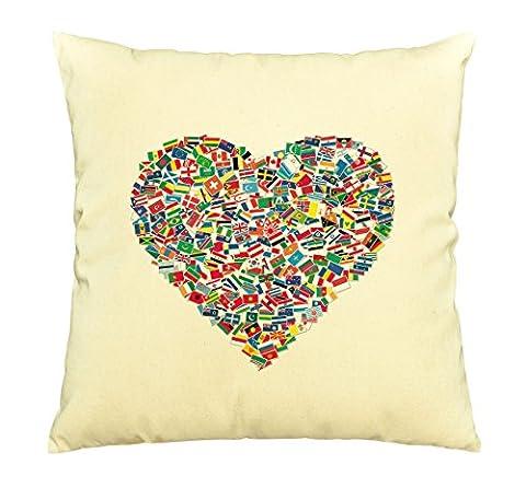 National Flags Printed Decorative Pillows Cover Cushion Case VPLC_03