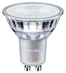 PHILIPS GU10 LED Lampe 4,9 Watt 60 Grad Spot dimmbar Glaskörper warmweiß 930 Ra90