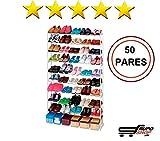 Mueble Zapatero 50 Pares ikea │ Estanteria de Zapatos │ Armario para zapatos Organizador barato ®