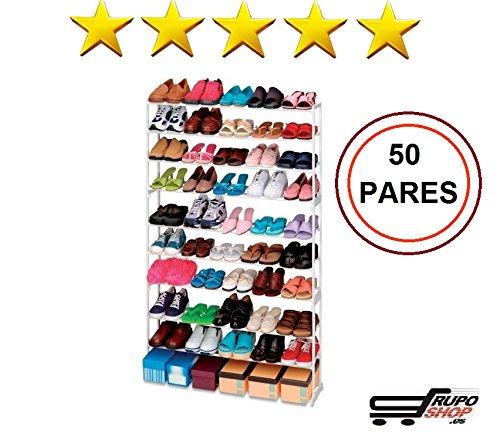 Mueble Zapatero 50 Pares ikea │ Estanteria de Zapatos │ Armario para zapatos Organizador barato...