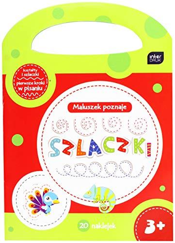 Interdruk MAA4RACZZ- Libro de Colorear A4 16 con Pegatinas y asa - Mezcla de diseños