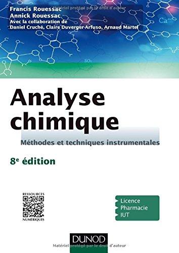 Analyse chimique - 8e éd. - Méthodes et techniques instrumentales