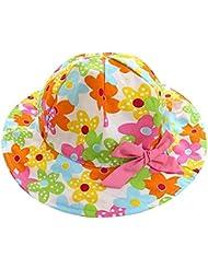 Sombrero de algodón niño sombrero de pescador sombrero de protección solar para la primavera