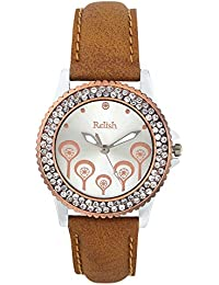 Relish Gift for Girls Analog Silver Dial Watches, Gift for Sister, Gift for Girlfriend - RE-L071CS