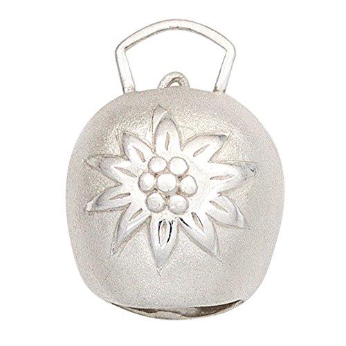 JOBO-Ciondolo-Campanaccio in argento Sterling 925parzialmente (Argento Campanaccio)