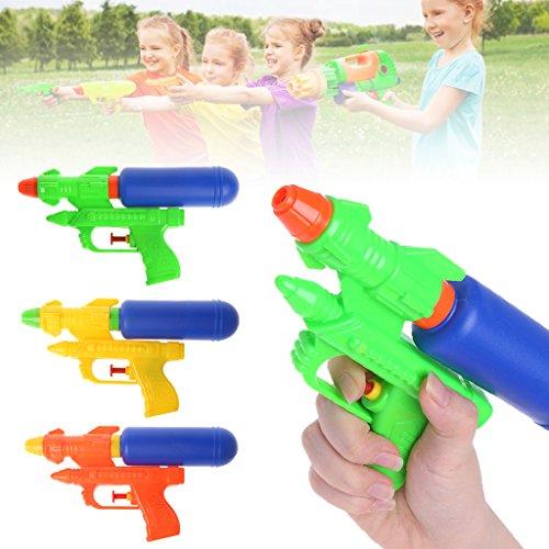 Autone Sommer Wasser Gun Spielzeug, Kinder Blaster Spray Wasserpistole Strand Spielzeug, 1Stück Zufällige Farbe