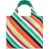 LOQI Pop Einkaufstasche / Reisetasche Reise-Henkeltasche, 50 cm, Stripes