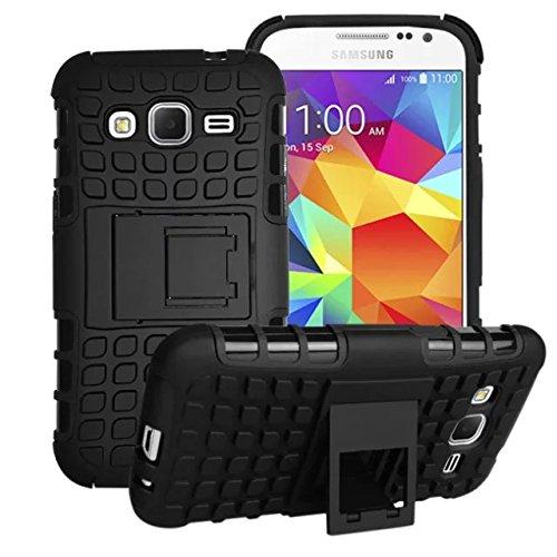 Urvoix per Samsung Galaxy Core Prime G360, ibrido resistente doppio strato anti-urto robusto Shell Grenade (Robusto Silicone)