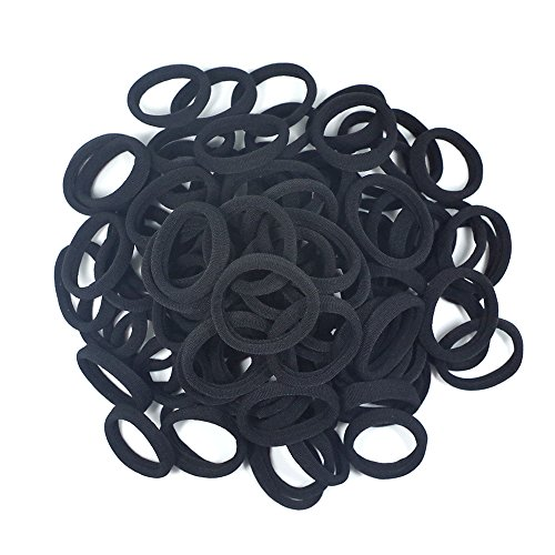 seamless-8mm-high-elastic-cotton-stretch-hair-ties-bands-rope-ponytail-holders-headband-scrunchie-ha