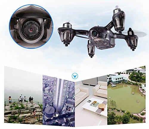 BlueBeach JJRC H6C 2,4 GHz 6-Achsen Gyro Quadcopter mit 2.0MP HD Kamera und LCD-Monitor Sender (2GB TF-Karte und Kartenleser enthalten) (Blau) - 8