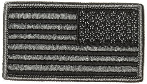 TAC SHIELD American Flag Patch with Foliage Green Reverse Facing by Tac Shield - Reverse-flag-patch