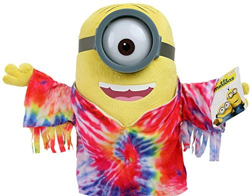 Minion Mark Hippie Plush - Despicable Me - 30cm 12''